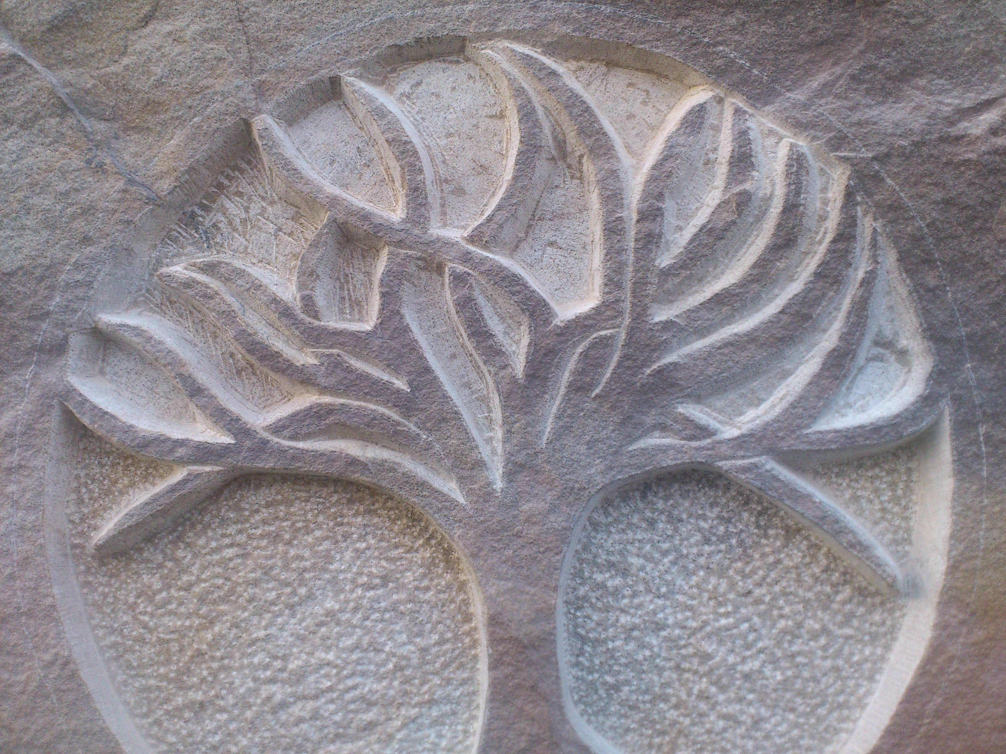 Tree of Life Carving in progress
