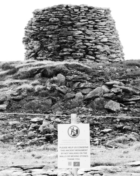 This 19th century dry stone cairn had partially collapsed. It sits ontop of a recorded monument, a prehistoric burial mound. EarthStone was able to repair and conserve the later cairn whilst ensuring the monument was not impacted in any negative way.