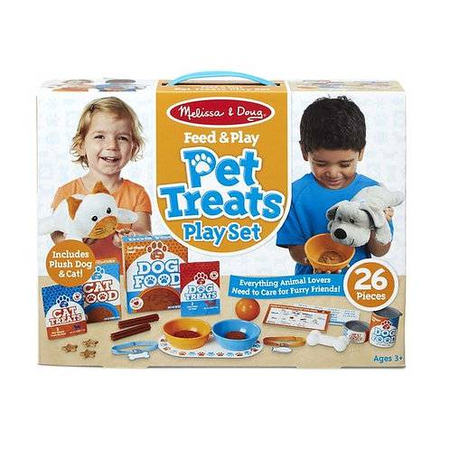 SET ALIMENTA Y JUEGA MASCOTAS-PET TREATS PLAY SET-MELISSA AND DOUG