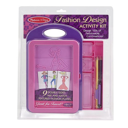 SET DISENO DE MODAS-FASHION DESIGN ACTIVITY SET-MELISSA AND DOUG