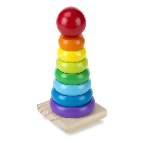 APILADOR ARCOIRIS-RAINBOW STACKER-MELISSA AND DOUG