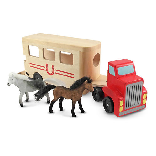 CAMION REMOLQUE DE CABALLOS-HORSE CARRIER-MELISSA AND DOUG