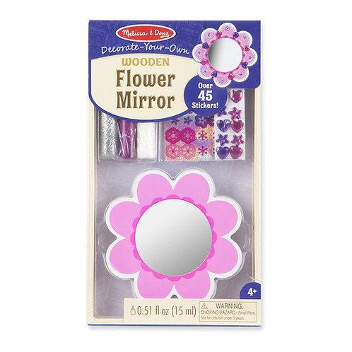 DECORA TU ESPEJO DE FLOR-DECORATE YOUR OWN FLOWER MIRROR-MELISSA AND DOUG
