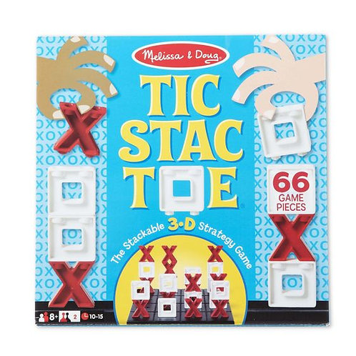 TIC STAC TOE-JUEGO DE MESA EL GATO-MELISSA AND DOUG
