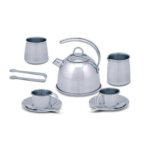 JUEGO DE TE ACERO INOXIDABLE-STAINLESS STEEL TEA SET-MELISSA AND DOUG