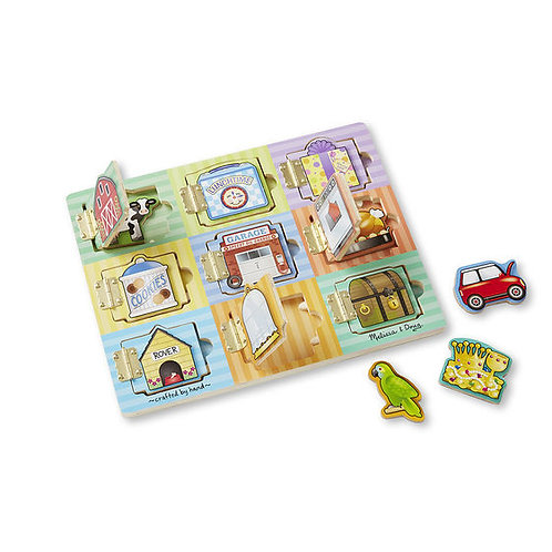 TABLERO MAGNETICO- HIDE AND SEEK BOARD-MELISSA AND DOUG
