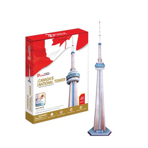 CONSTRUYE 3D CANADAS NATIONAL TOWER
