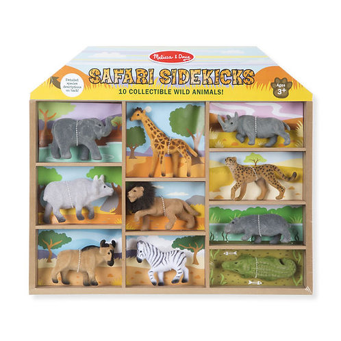 ANIMALES DE SAFARI-SAFARI SIDEKICKS-MELISSA AND DOUG