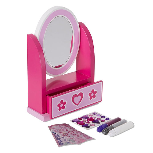 DECORA TU TOCADOR-DECORATE YOUR OWN VANITY-MELISSA AND DOUG