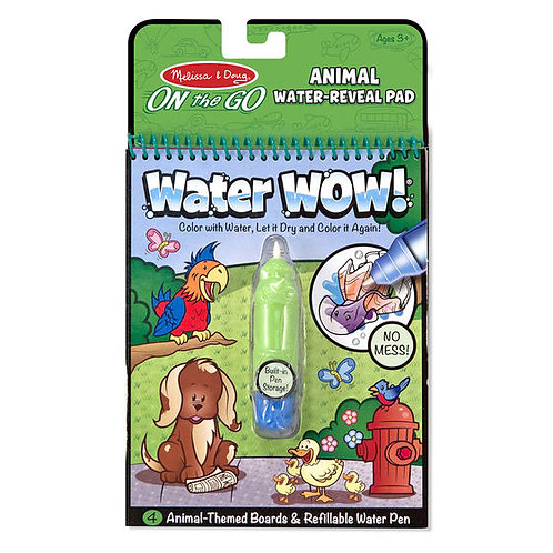 WATER WOW ANIMALES-WATER WOW ANIMALS-MELISSA AND DOUG
