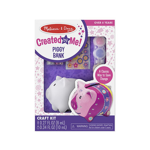 HAZLO TU MISMO ALCANCIA COCHINITO-DYO PIGGY BANK-MELISSA AND DOUG