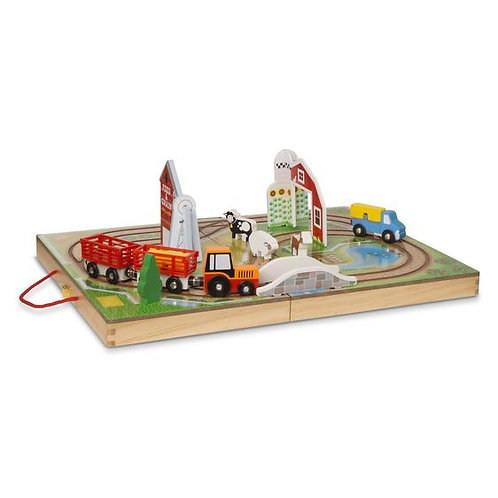 SET GRANJA PORTATIL-TAKE ALONG FARM-MELISSA AND DOUG