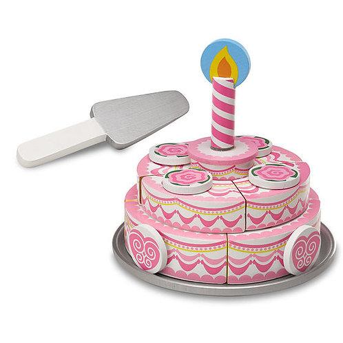 PASTEL DE CUMPLEAÑOS DE 3 PISOS-3 LAYER BIRTHDAY CAKE-MELISSA AND DOUG