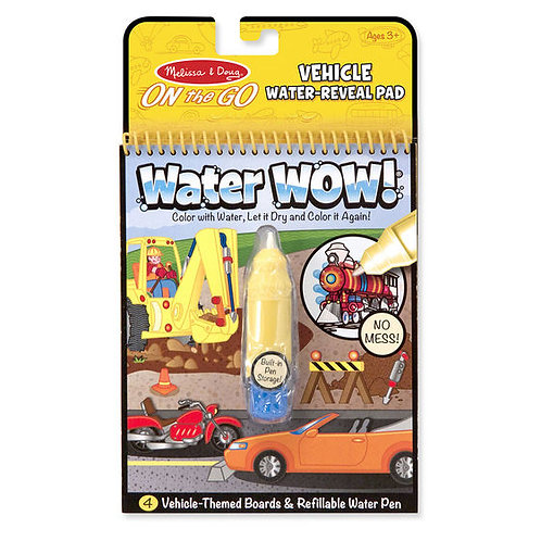 WATER WOW VEHICULOS-WATER WOW VEHICLES-MELISSA AND DOUG