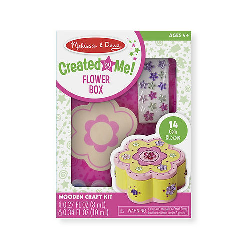 DECORA TU ALHAJERO FLOR-DECORATE YOUR OWN FLOWER CHEST-MELISSA AND DOUG