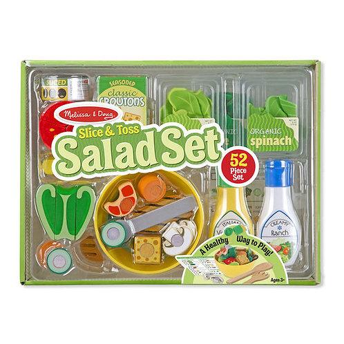 SET ENSALADA-SLICE AND TOSS SALAD SET-MELISSA AND DOUG