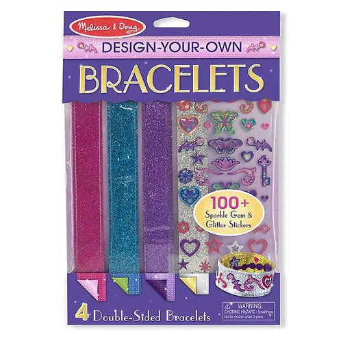 DISEÑA TUS BRAZALETES-DESIGN YOUR OWN BRACELETS-MELISSA AND DOUG