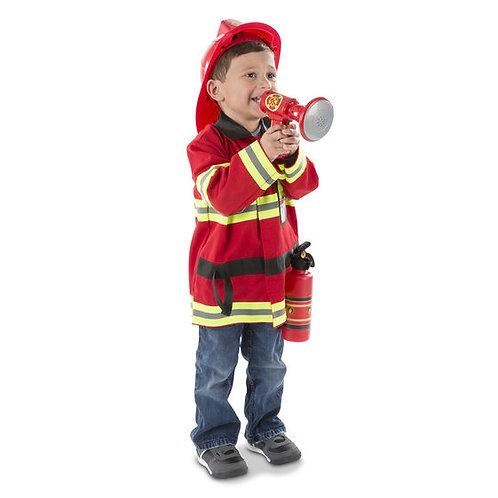 DISFRAZ DE BOMBERO-FIRE CHIEF ROLE PLAY SET-MELISSA AND DOUG