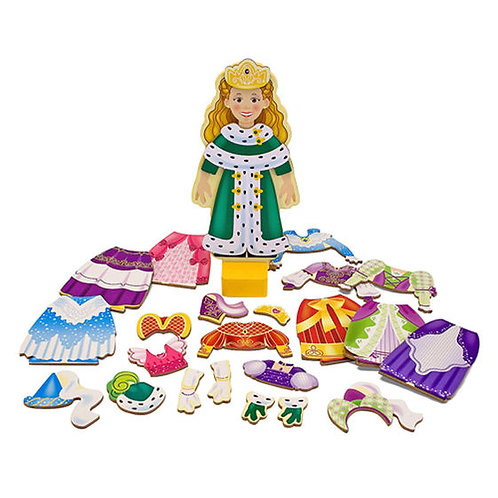 PRINCESA ELISE VESTIDOS MAGNETICOS-MELISSA AND DOUG