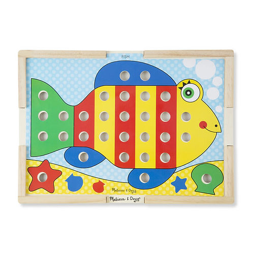 CLASIFICA Y ENCAJA COLORES-SORT AND SNAP COLOR MATCH-MELISSA AND DOUG