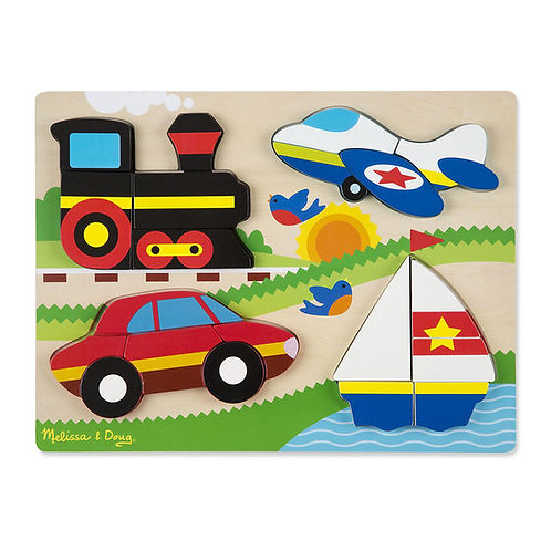ROMPECABEZAS CHUNKY VEHICULOS-VEHICLES CHUNKY PUZZLE-M & D