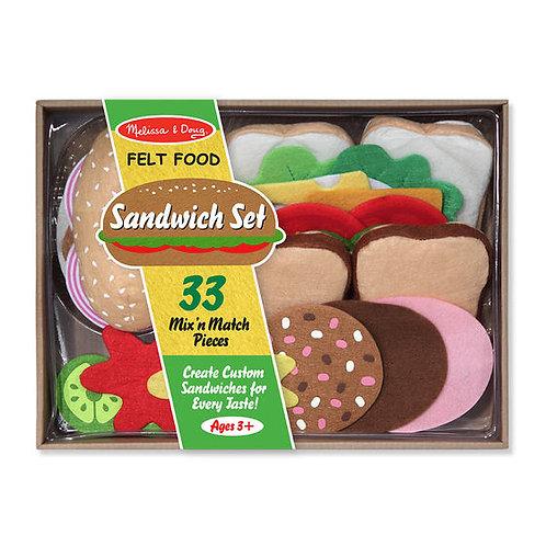 SET PARA SANDWICH DE FIELTRO-FELT SANDWICH MAKING SET-MELISSA AND DOUG