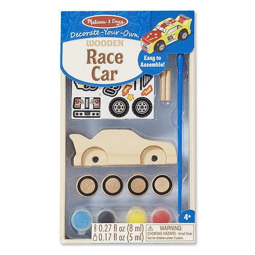 DECORA TU CARRO DE CARRERAS-DECORATE YOUR OWN RACE CAR-MELISSA AND DOUG