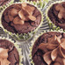 Chocolate Brownie Cupcakes with Salted Chocolate Frosting