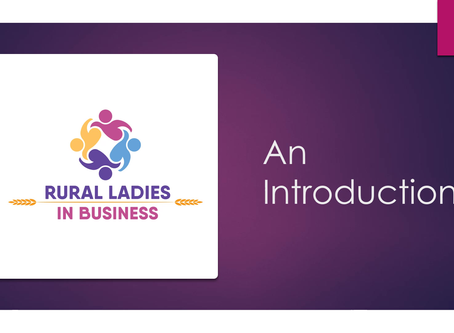 Introducing Rural Ladies in Business