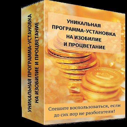 Программа-установка на изобилие и процветание | OvLGroup