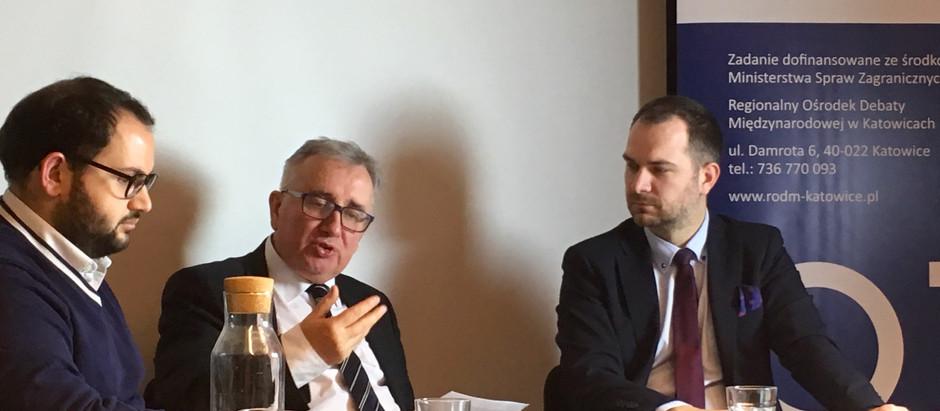 Dyskusja RODM - Jak wspierać młodych na rynku pracy? Instrumenty krajowe i zagraniczne