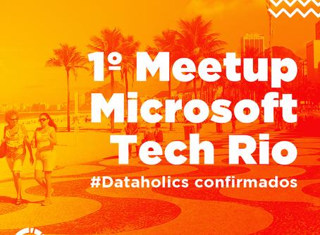 Time da Dataside é presença confirmada no 1º Meetup Microsoft Tech Rio