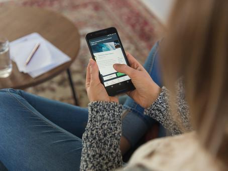 Bem-estar digital, soluções na palma da mão