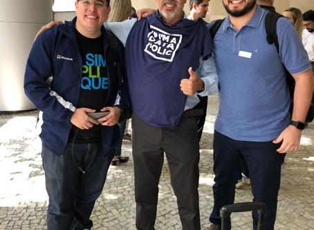 Igor Santos, consultor Dataside, participa de Meetup na Microsoft