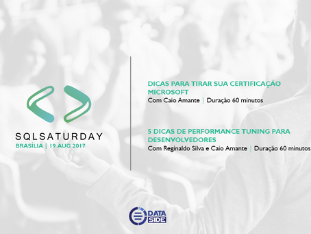 Dataside participa do SQL SATURDAY – BRASÍLIA-DF