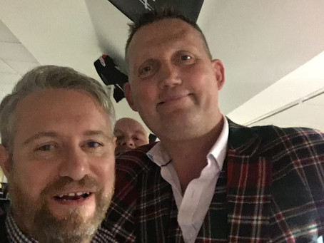 Doddie Weir charity evening at Newcastle Falcons  2nd November 2017