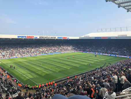 Newcastle v Arsenal April 2018