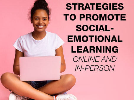 SEL Strategies In-Person & Online (Free Webinar)