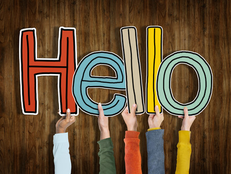 guest blog: back to school - the importance of hello