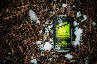 Beer in snow