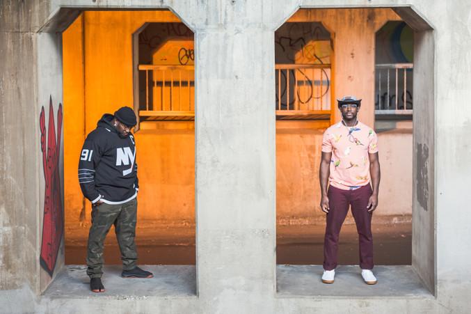 Musician Portrait Urban Portrait