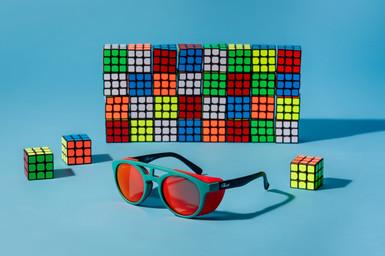 Rubix cube and Sunglasses