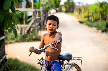bike ride boy