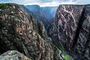 ariel mountain landscape