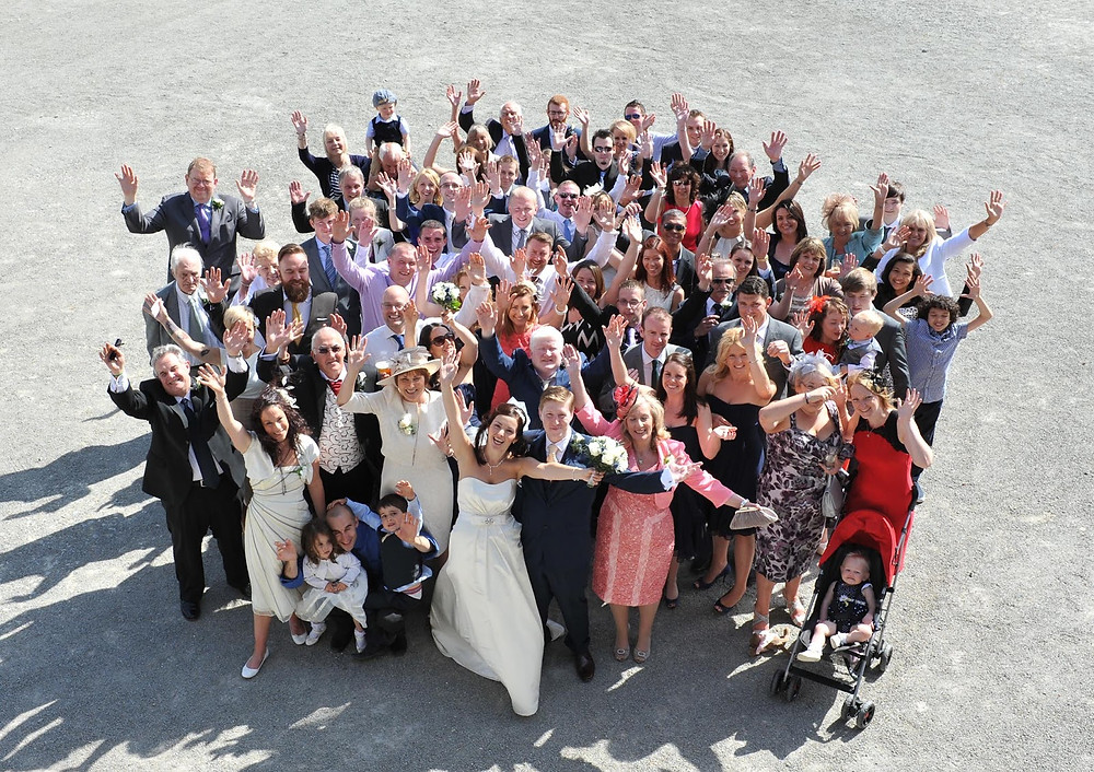Wedding group photo guide