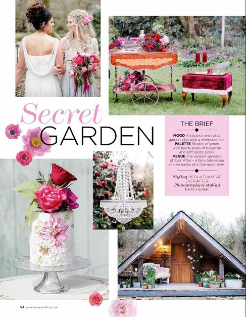 The Secret Garden Elopement Shoot