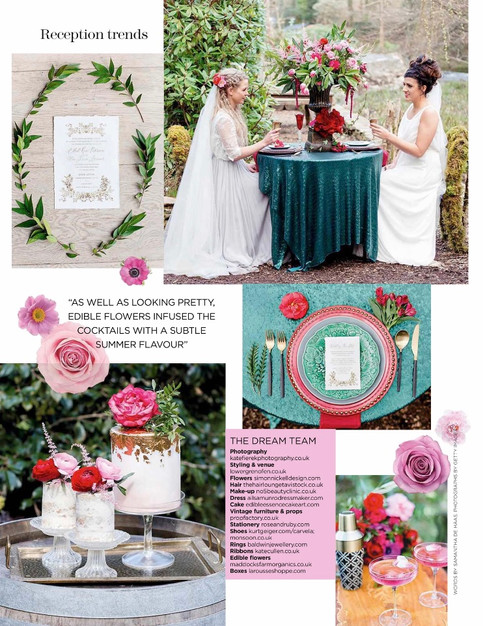 Styled shoot at Ever After a Dartmoor Wedding, Devon
