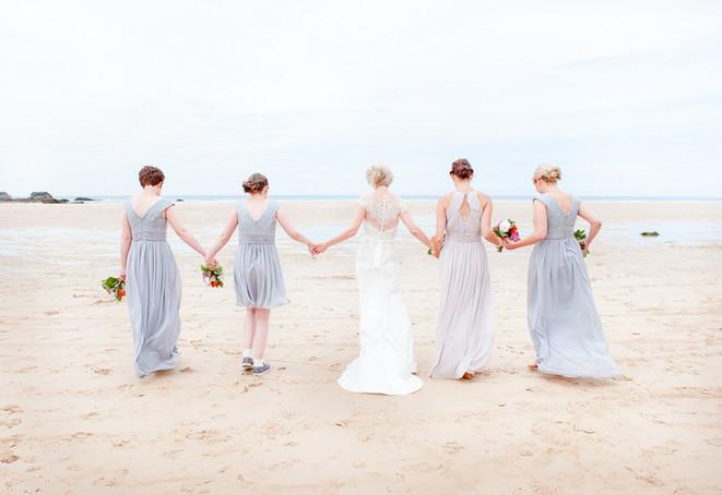 Beech wedding in Cornwall
