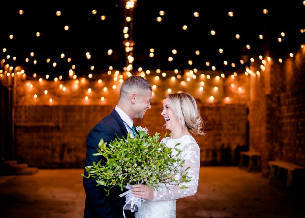 Barn wedding at The Green