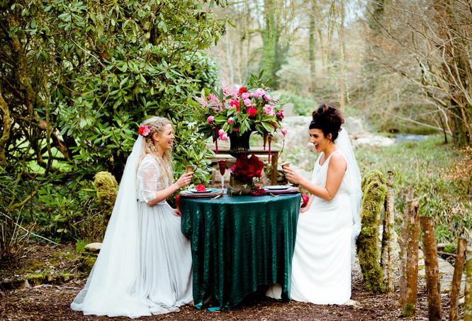 Rustic wedding venues in Devon